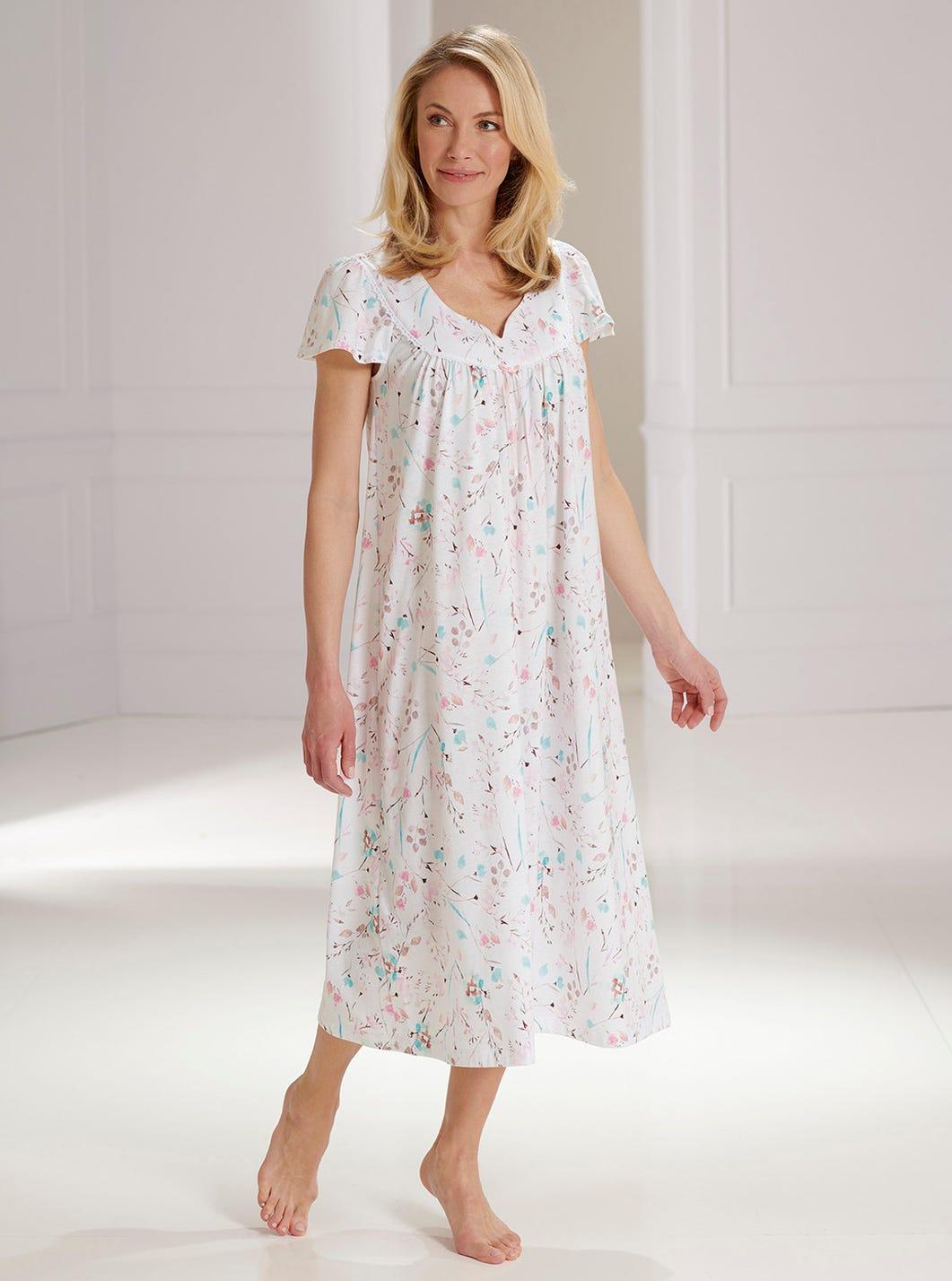 Floral Jersey Nightdress