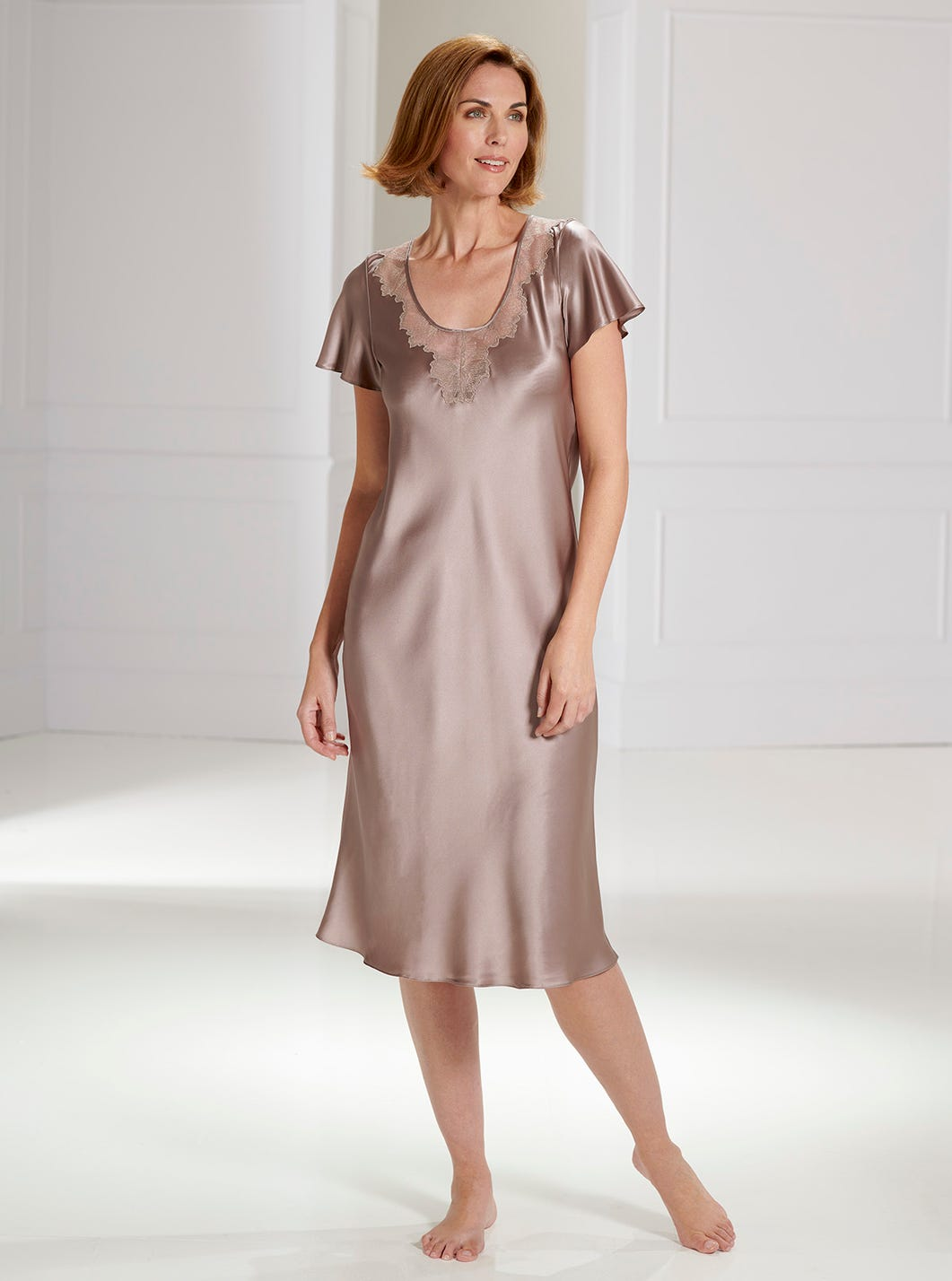 Glamorous Satin Nightdress