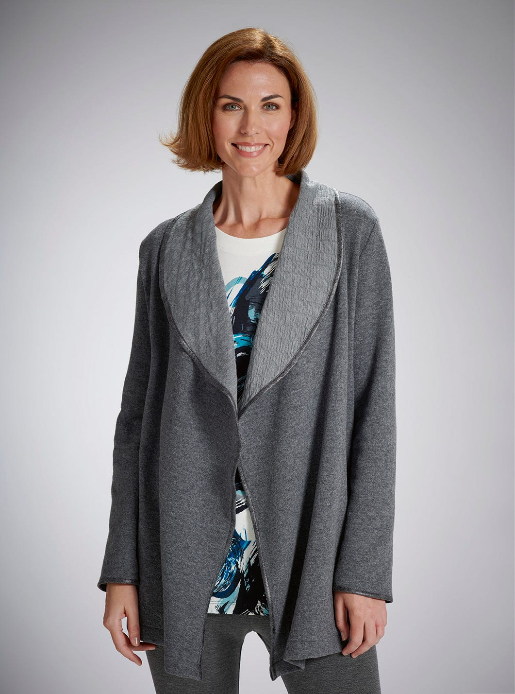 Relaxed Wool-rich Cardigan