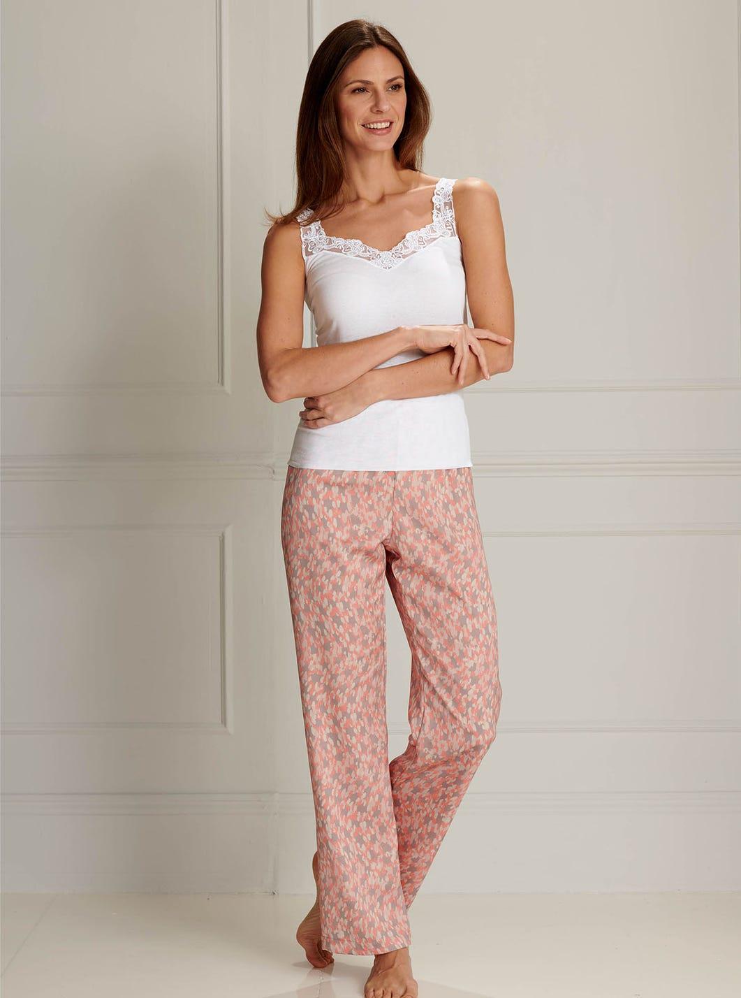 Pure Silk Pyjama Bottoms