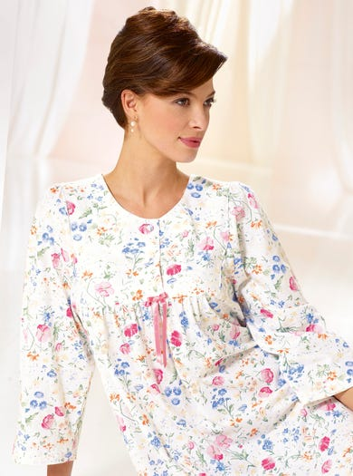 0291 - Summer Daisy - Cosy Nightdress