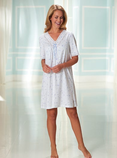 Comfy Jersey Cotton Nightshirt
