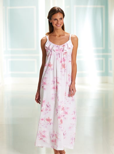 0351 - Pink - Cool Cotton Nightie
