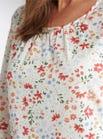 Pretty Floral Pyjama Top