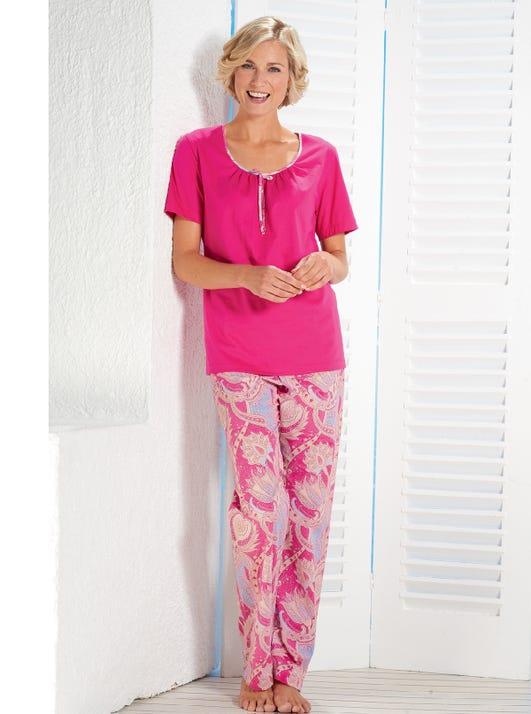 Lichtgewicht katoenen pyjama