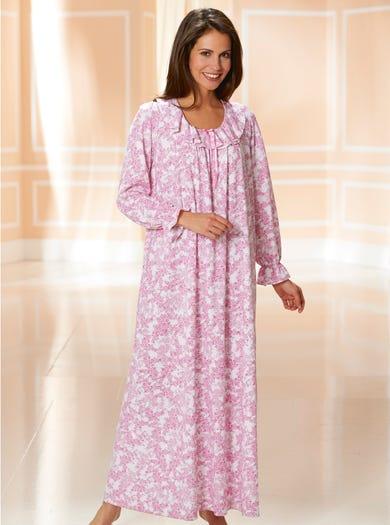 0453 - Pink - Cotton Jersey Nightie