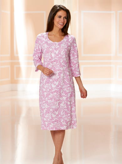 Soft Cotton Jersey Nightshirt