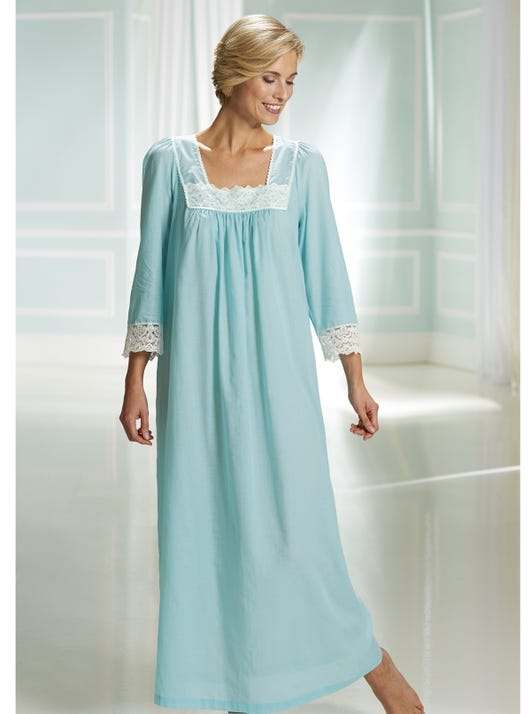 Cool Cotton Voile Nightdress