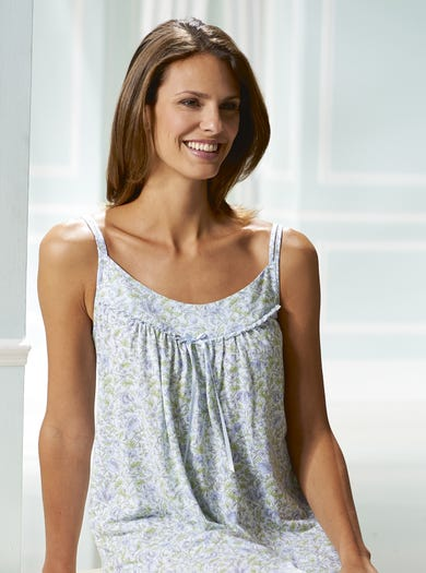 0561 - Meadowflower - Cool Cotton Strappy Nightie