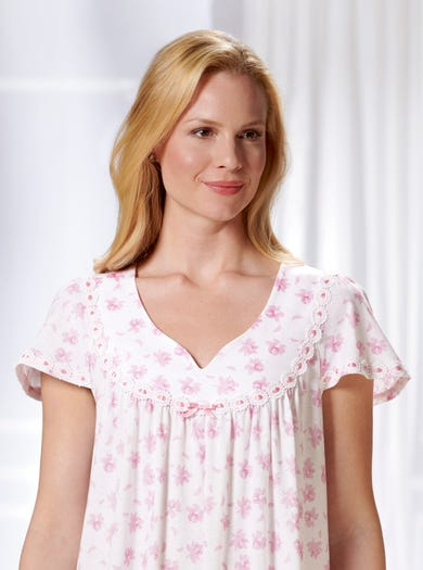 0841 - Camelia - Soft Jersey Nightdress