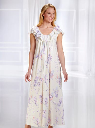 0882 - Pastel - Luxury Jersey Nightdress
