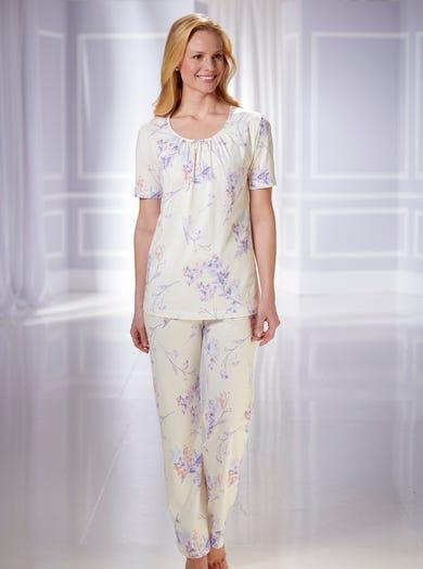0885 - Pastel - Comfortabele katoenen pyjama