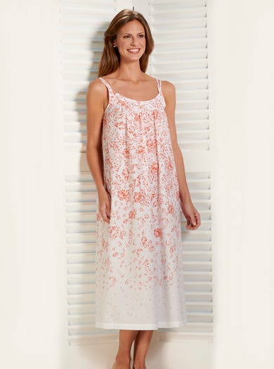 0891 - Sweet Valentine - Ultralight Woven Cotton Nightie