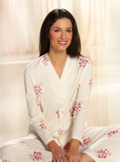 0895 - Aardbei - Jerseykatoenen pyjama
