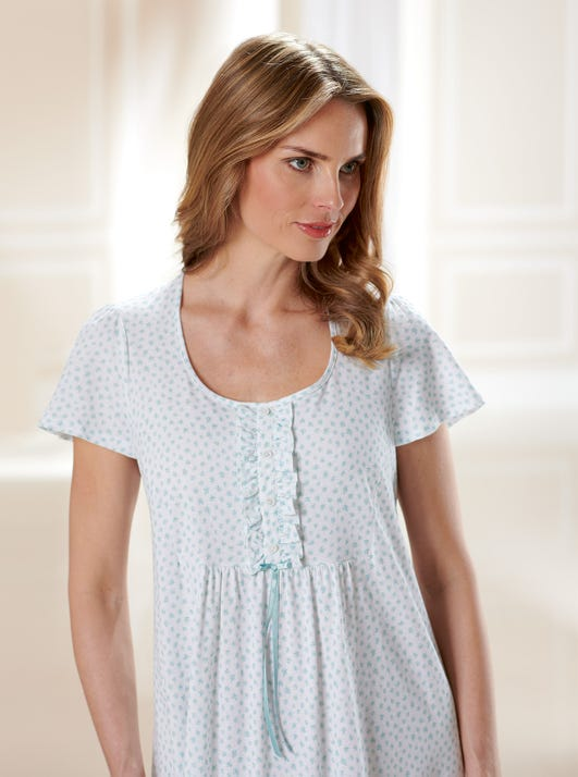 Soft Cotton Jersey Nightdress