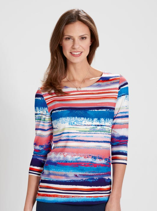 Supersoft Stretch Jersey Top