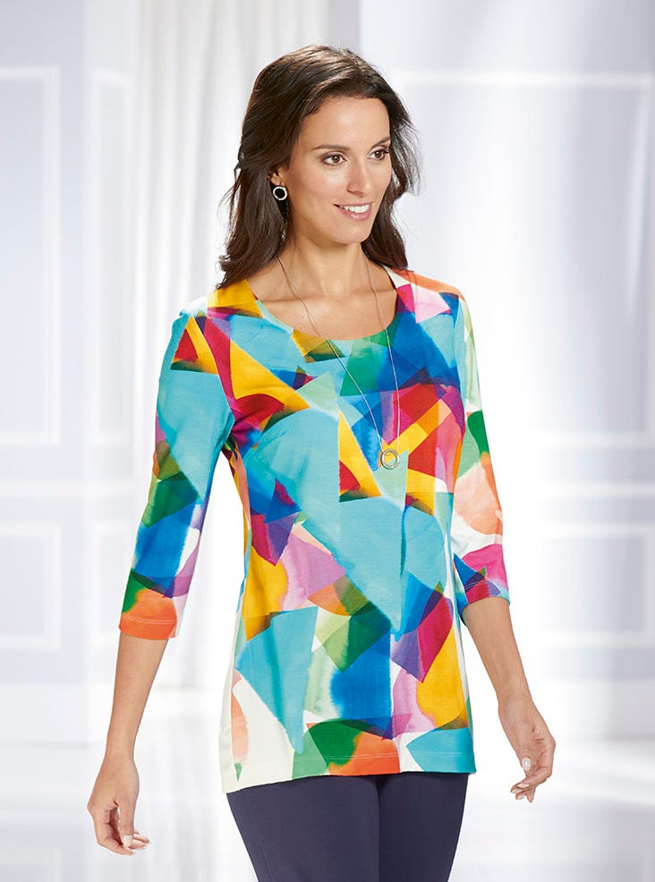 d0c9297d20 Supersoft Tunic Top - Tops and Tunics - Womenswear