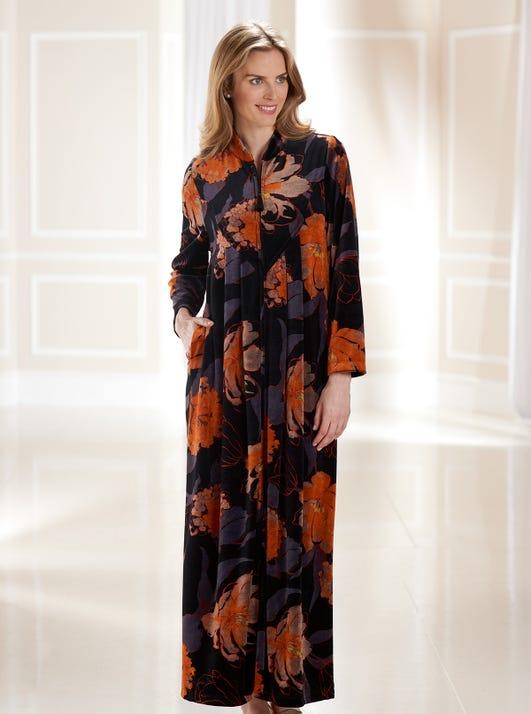 Luxury Velvet Velour Gown