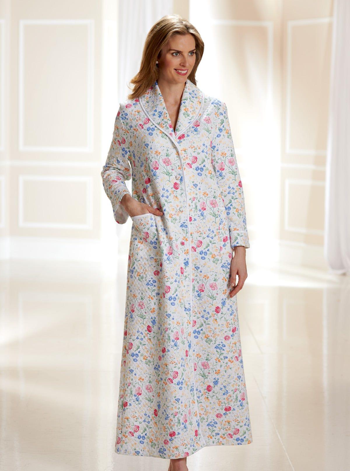 Robe De Chambre Matelassée Douillette