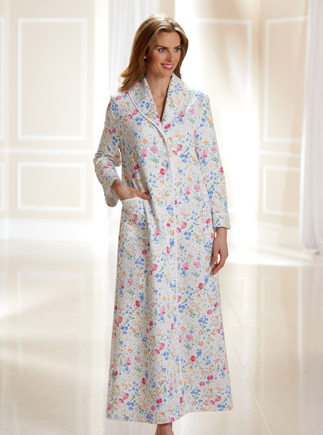 Cosy Quilted Gown