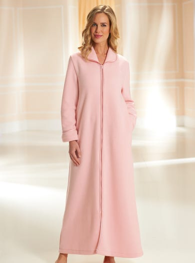 3311 - Rose - Easy-on Warm Fleece Gown