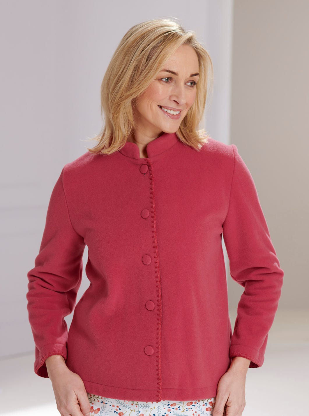 Fleecy Bed Jacket