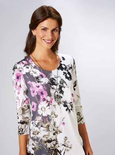 3640 - Madeliefje - Lange jersey top