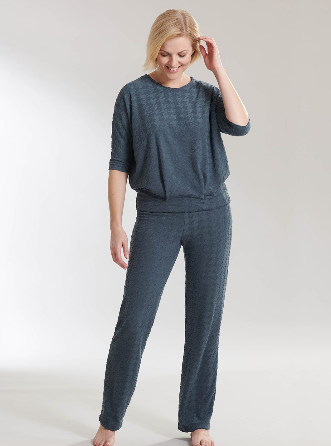 Houndstooth Lounge Trousers