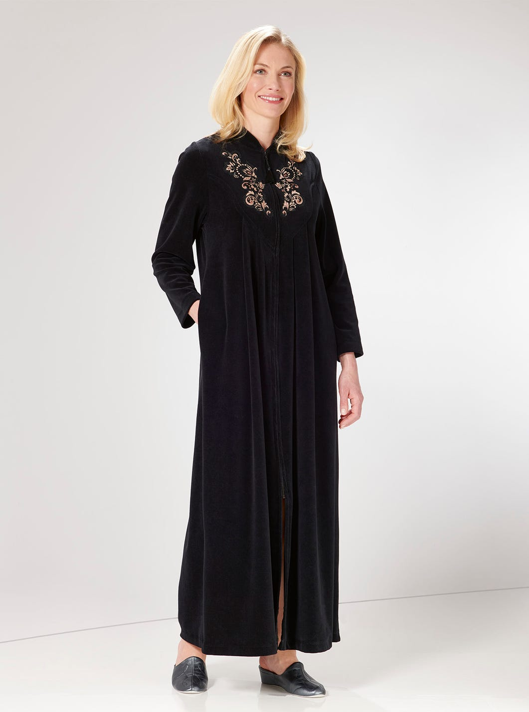 Classic Velour Gown