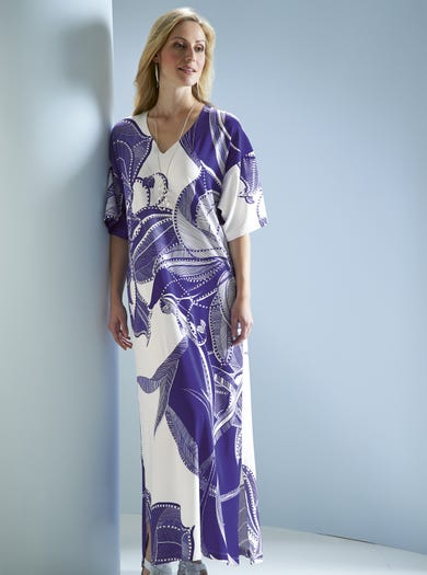 Stretch Jersey Kaftan