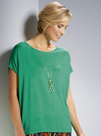3816 - Groen - Extrazachte jersey top