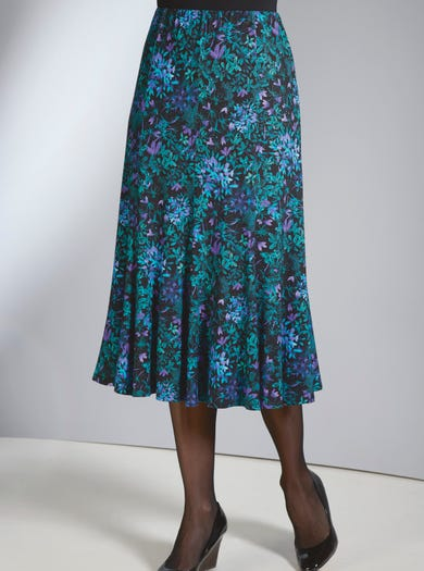 4116 - Emerald - Easy Jersey Skirt