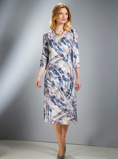 Designer Jersey Dress