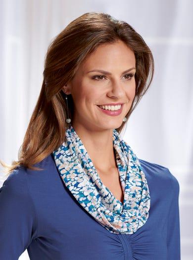 4208 - Galet - Écharpe-collier en jersey