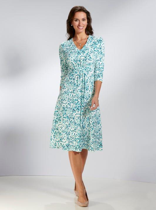 Luxuriöses Jerseykleid