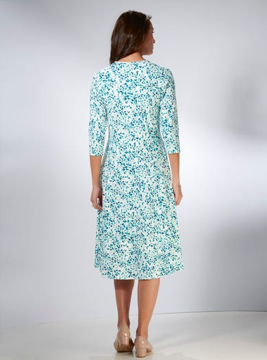 4233 - Petals - Luxury Jersey Dress