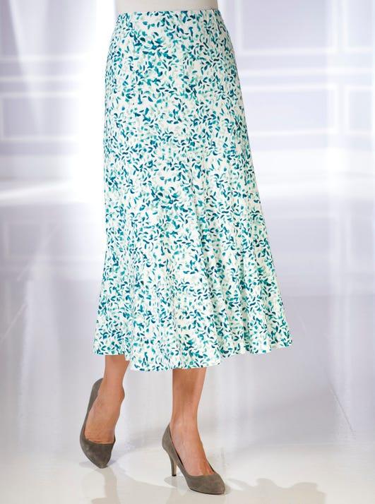 Soft Stretch Jersey Skirt