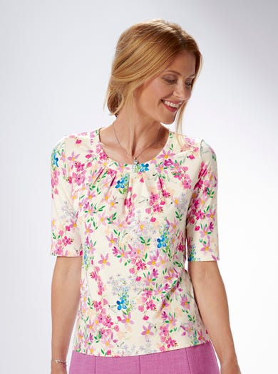 4240 - Meadow - Pretty Jersey Top