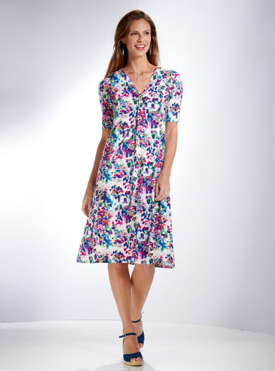4265 - Tutti Frutti - Easy Drapey Dress