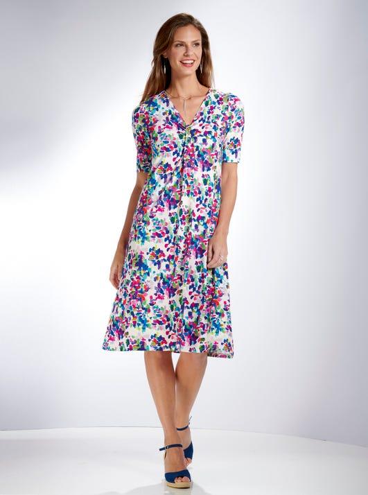 Easy Drapey Dress