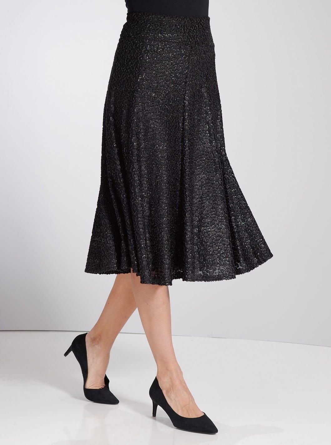 Soft Shimmer Skirt
