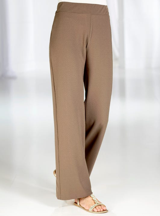 Uncrushable Palazzo Trousers