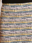 Ripple Print Jersey Skirt