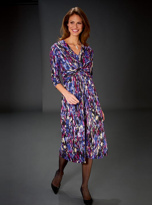 Uncrushable Silky Jersey Dress