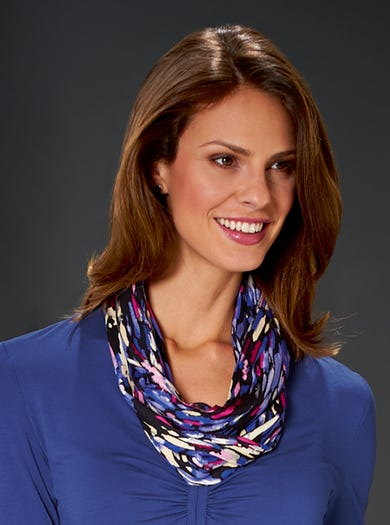 4898 - Cobalt Blue - Jersey Infinity Scarf