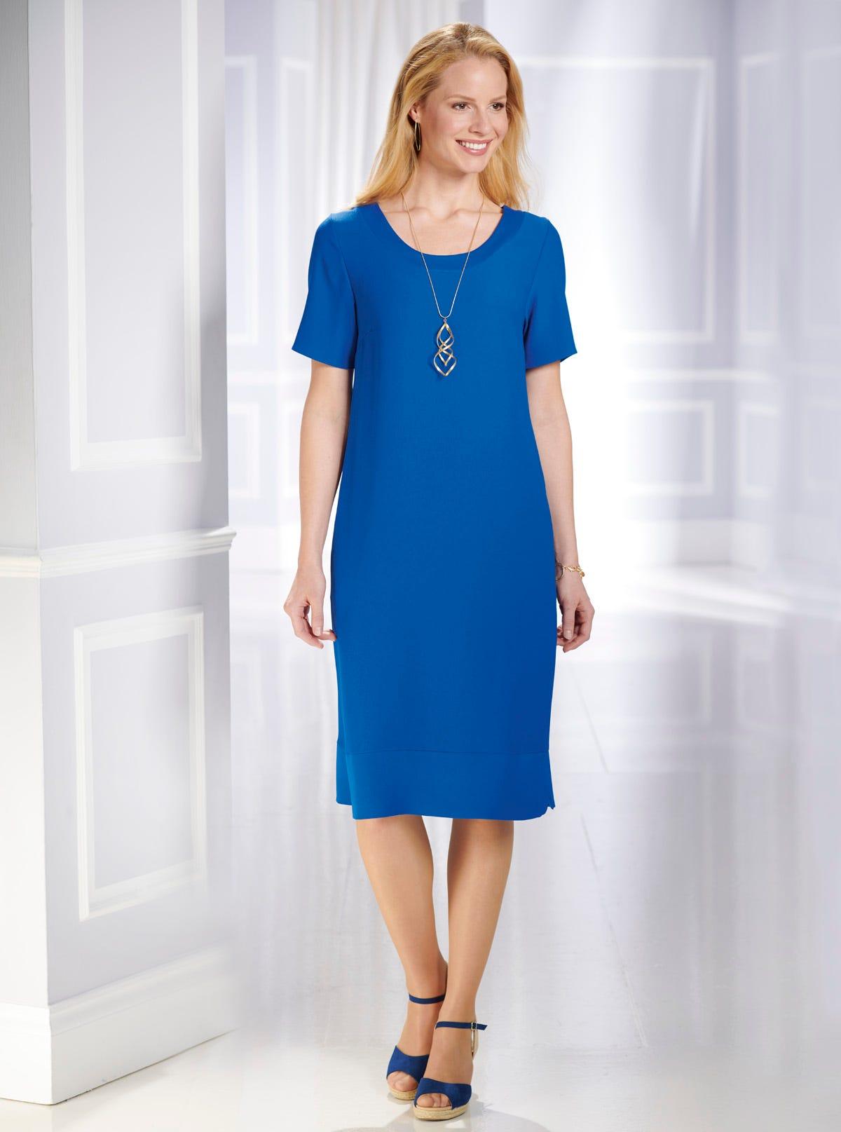 11f94db34e3 Superbe robe housse infroissable unie - Robes - Prêt-à-Porter ...