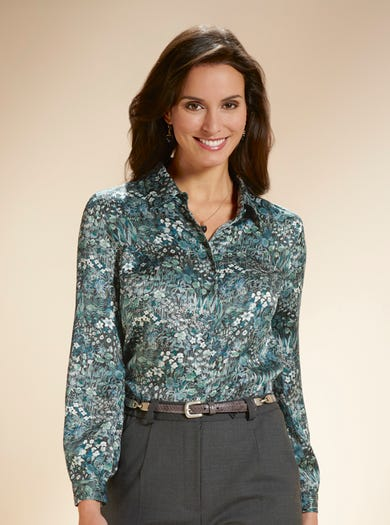 Pure Silk Liberty Blouse