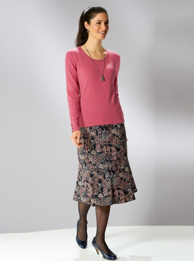 5336 - Casablanca - Liberty Soft Needlecord Skirt