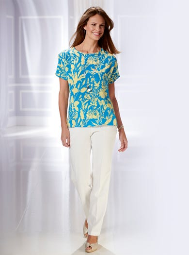 5340 - Colorfield - Luxury Silk Tee