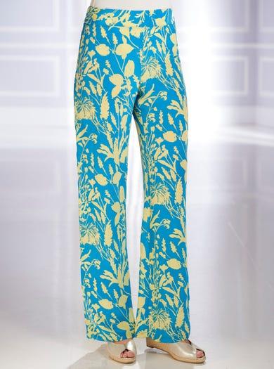 5349 - Colorfield - Pure Silk Palazzos